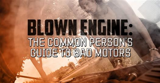 DC - Blown Engine - The Common Person's Guide to Bad Motors