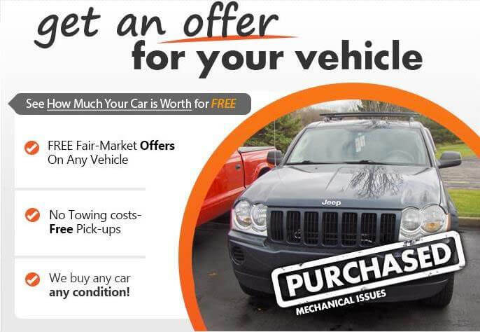 Get an Offer for Your Vehicle