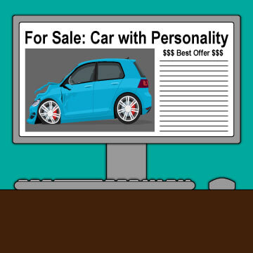 how to sell a car on craigslist what 39 s the best way to sell your car online. Black Bedroom Furniture Sets. Home Design Ideas